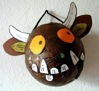 Gruffalo Masks Astburyreceptionblog